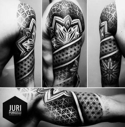 Tattoo for guys geometric geometry patterns 33+ new Ideas