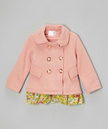 جاكيت خربزي وتنورة Baby Girl Fall Outfits Toddler Girl Cute Jackets