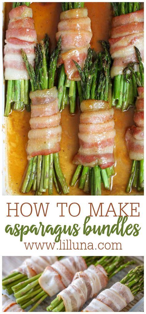 #asparagusbaconbundles #asparagusbundles #baconwrappedasparagus #baconwrapped #asparagus