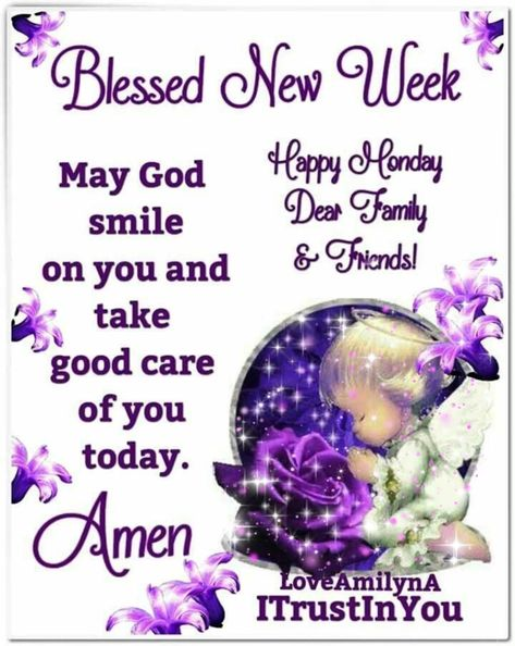 Blessing for Monday and New Week!