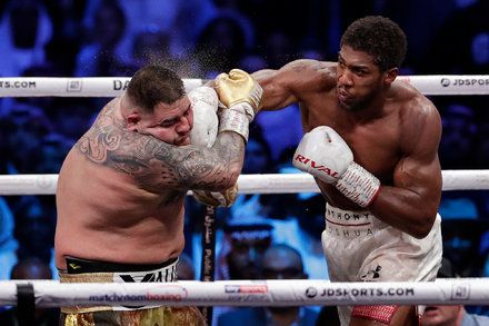 Anthony Joshua Takes Back Heavyweight Crown From Andy Ruiz Anthony Joshua Heavyweight Boxing World Boxing
