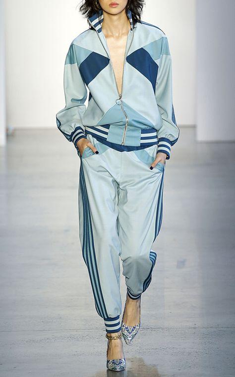 Zimmermann Moncur Cuffed Wool Track Pants