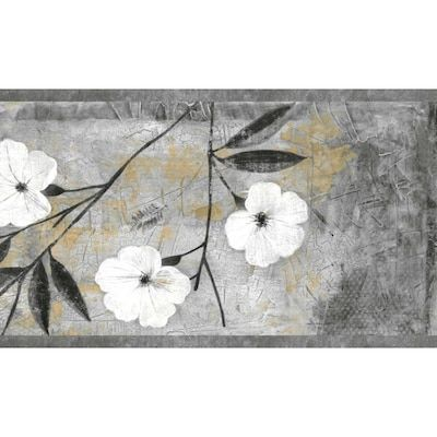 Dundee Deco 4 In Abstract Grey Scroll Self Adhesive Wallpaper Border Lowes Com Wallpaper Border Abstract Wallpaper Border Self Adhesive Wallpaper