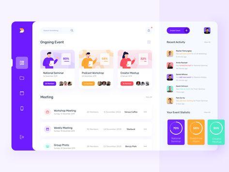 Best Website Dashboard UI Examples for Design Inspiration—#34