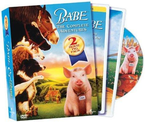 Babe - The Complete Adventure Two-Movie Pig Pack (Full Screen Editions) - Default