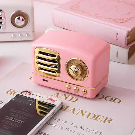 Retro Radio design rechargeable Bluetooth Speaker – Pin's Page