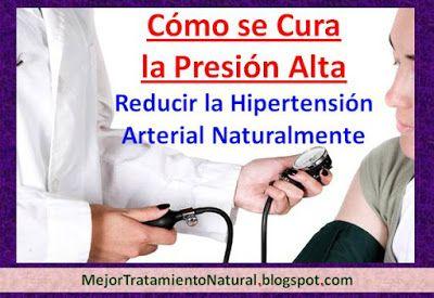 Cura la hipertensión remedios caseros