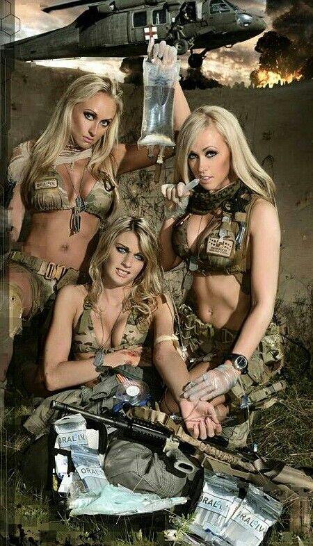 Army girls sexy n