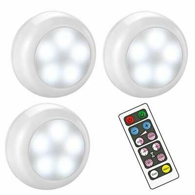 Sponsored Link Bls Wireless Dimmable Led Puck Lights With Remote Control Aa 1030 White In 2020 Led Puck Lights Puck Lights