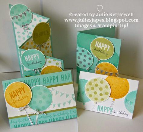 Julie Kettlewell - Stampin Up UK Independent Demonstrator - Order products 24/7: Last Celebrations