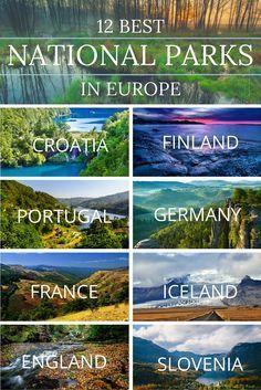 De 12 beste nationale parken in Europa / Best national Parks in Europe 🌍 Backpacking Europe, Europe Travel Tips, European Travel, Travel Destinations, Europe Europe, Travel Hacks, Europe Packing, Travel Deals, Travel Packing