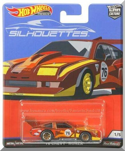 Hot Wheels 76 Chevy Monza Car Culture Silhouettes 1 5 2019