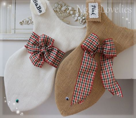 Handmade Christmas Gift Ideas For Everyone | Fish Christmas Stocking For Cats