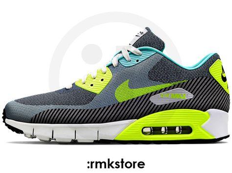 Nike Air Max 90 Jacquard JCRD PRM RIO Brasil Hyper Turquoise