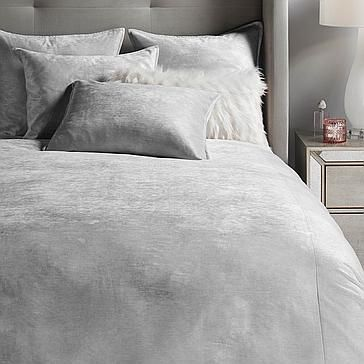Avanti Bedding Silver From Z Gallerie In 2020 Redecorate Bedroom Chic Furniture Bed