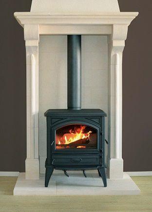 British Fireplaces Through The Ages Corner Wood Stove Freestanding Fireplace Wood Burning Stove Corner