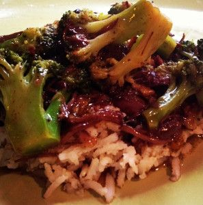 The Easiest Ever Paleo Broccoli Beef you've ever made in your slow cooker is here! If that wasn't cool enough, it's also a great way to prepare a paleo beef and broccoli stir fry recipe that tastes like it came straight from a Chinese restaurant.