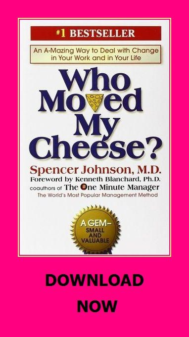 Who Moved My Cheese One Minute Manager Download Books Audio Books