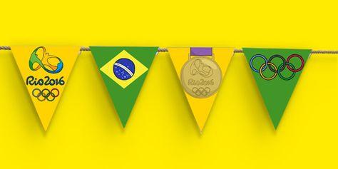 Rio Olympics 2016 Bunting