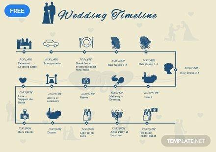 Free Wedding Timeline Template Pdf Word Doc Apple Mac Pages Google Docs Wedding Timeline Wedding Timeline Template Free Wedding