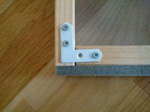 網戸を自作 Diy初心者でも簡単に木製の枠を作る方法 画像あり 網戸 網戸 自作 玄関 網戸 Diy