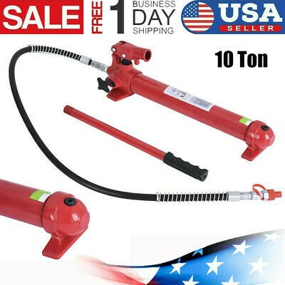 Ebay Advertisement 10 Ton Hydraulic Jack Pump Ram Replacement For