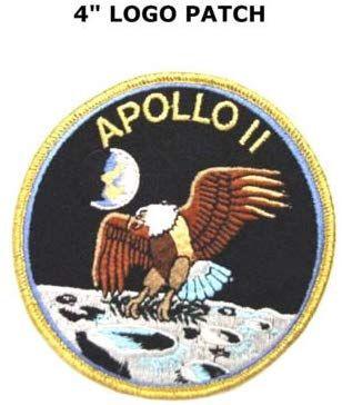 """NASA APOLLO 11 Badge Patch 8x8 cm 3.1/"""""""