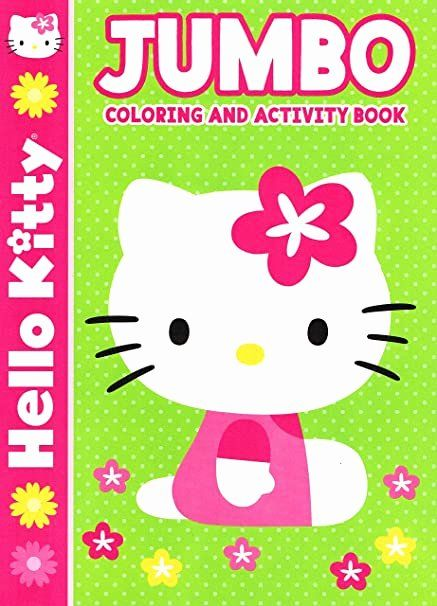 Hello Kitty Coloring Book Inspirational Hello Kitty Jumbo Coloring And Activity Book In 2020 Kitty Coloring Cat Coloring Book Hello Kitty Coloring