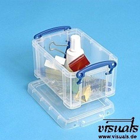 Really Useful Box 0 7 Liter Mit Deckel Deckel Kunststoffbox Und