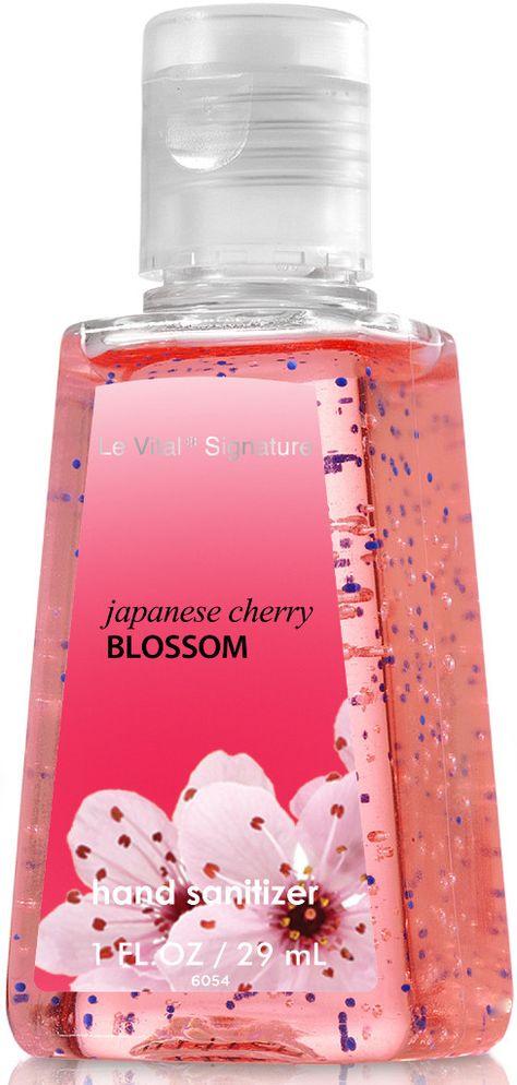 Japanese Cherry Blossom Pocketbac Hand Sanitizers 5 Pack Bath