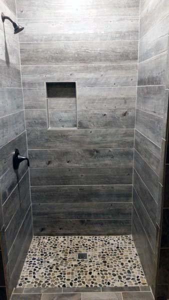 Top 70 Best Rustic Bathroom Ideas Vintage Designs Wood Tile