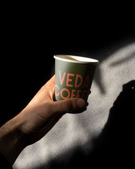 Product photography for coffee brand VEDA COFFEE