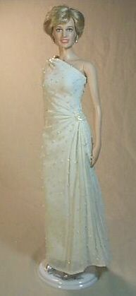 """White Doll Stockings for Franklin Mint 16/"""" dolls Princess Diana"""