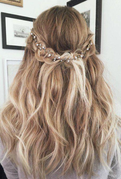 Hochzeit Hochsteckfrisuren Fur Langes Haar Frisuren Frisuren
