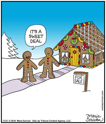 gingerbread house for sale is a sweet deal ~ real estate