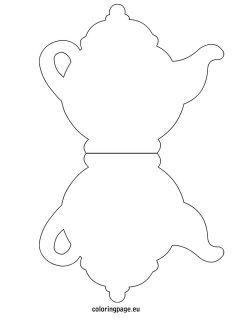 Wwwunder5scouk teapot template Mothers Day and