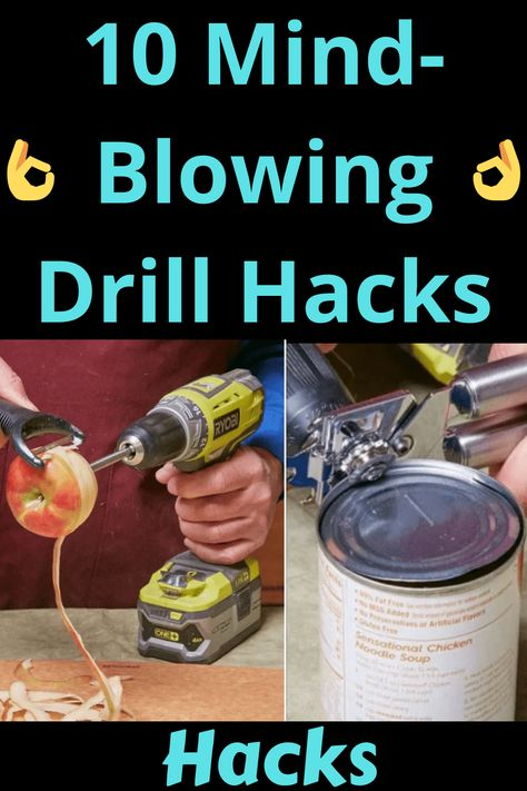 Life Hacks Home, Simple Life Hacks, Handyman Projects, Diy House Projects, Dyi, Easy Diy, Thing 1, Life Styles, Chicken Noodle Soup