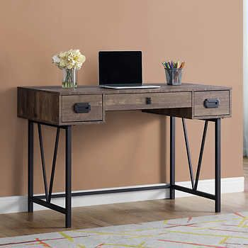 Desk Ideas Perfect For Small Spaces Rustic Computer Desk Wood Computer Desk Home Office Furniture