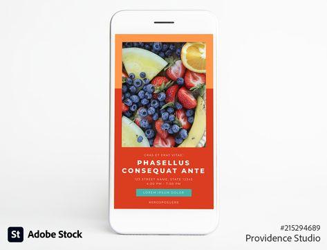Instagram-compatible stories set
