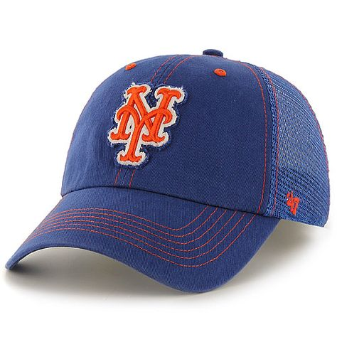 new arrive available great look New York Mets Flexbone '47 Closer One Size Stretch Fit Cap by '47 ...
