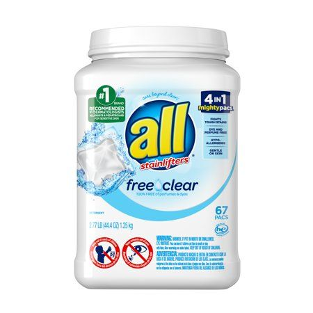 Seasonal In 2020 Laundry Detergent Free Clear Detergent