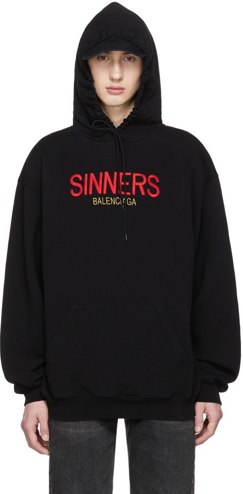 sells low price sale a few days away Balenciaga « SINNERS » hoodie | FAV top | Balenciaga, Pull ...