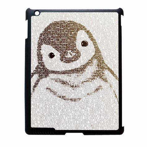 The Little Intellectual Penguin iPad 4 Case