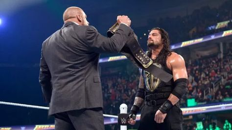 The two men will meet in the main event of WrestleMania on April 3, 2016. Expect a war.