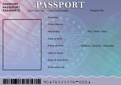 Free Printable Passport Book - When.com - Image Results | Co-op ...
