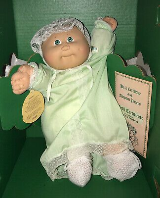 Vintage 1984 Cabbage Patch Kids Preemie Girl In Box With Certificate Signed 76930038628 Ebay In 2020 Patch Kids Original Cabbage Patch Dolls Cabbage Patch Kids