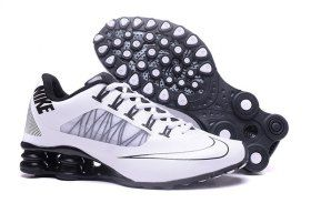d12de8b883a5 Discount Nike Shox White Black Shox Nz Mens Athletic Running Shoes Trainers