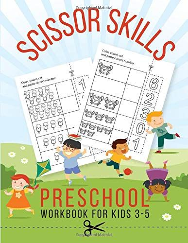Scissor Skills Preschool Workbook For Kids 3 5 Activities For Prek By Tots Activity Books Scissor Skills Preschool Preschool Workbooks Workbook For Kids Scissor skills preschool workbook