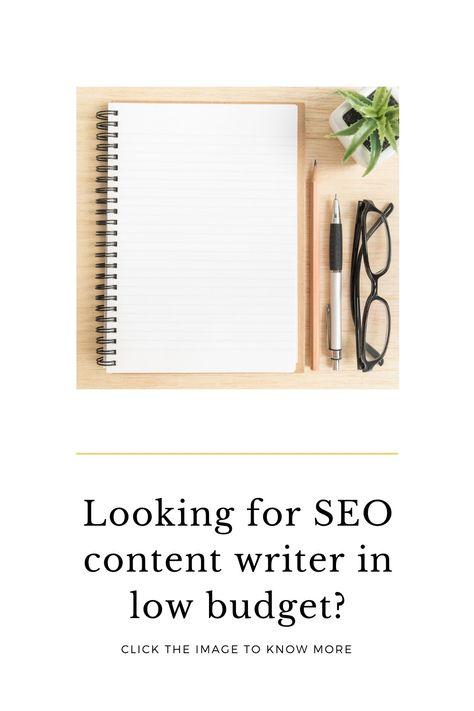 SEO content writer gor your website