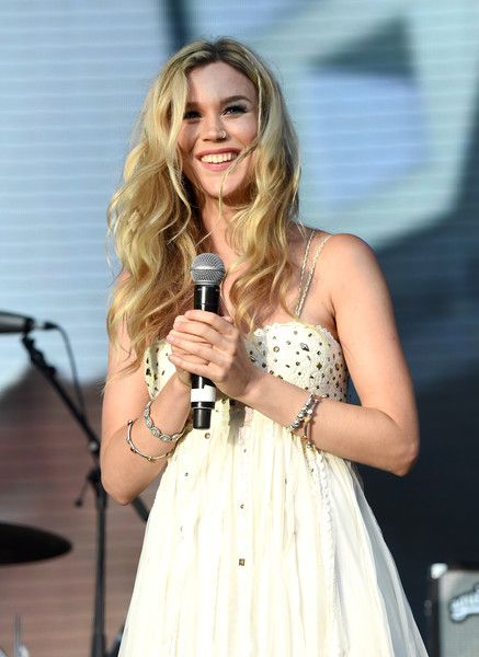 Singer Joss Stone performs on stage during the Sentebale Concert at Kensington Palace on June 28, 2016 in London, England. Sentebale was founded by Prince Harry and Prince Seeiso of Lesotho over ten years ago. It helps the vulnerable and HIV positive children of Lesotho and Botswana.